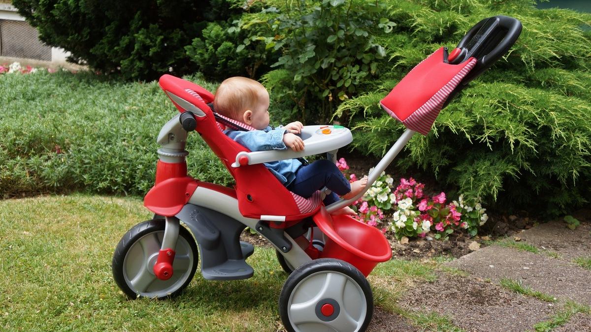 Tout savoir sur le tricycle évolutif baby's clan giro 08