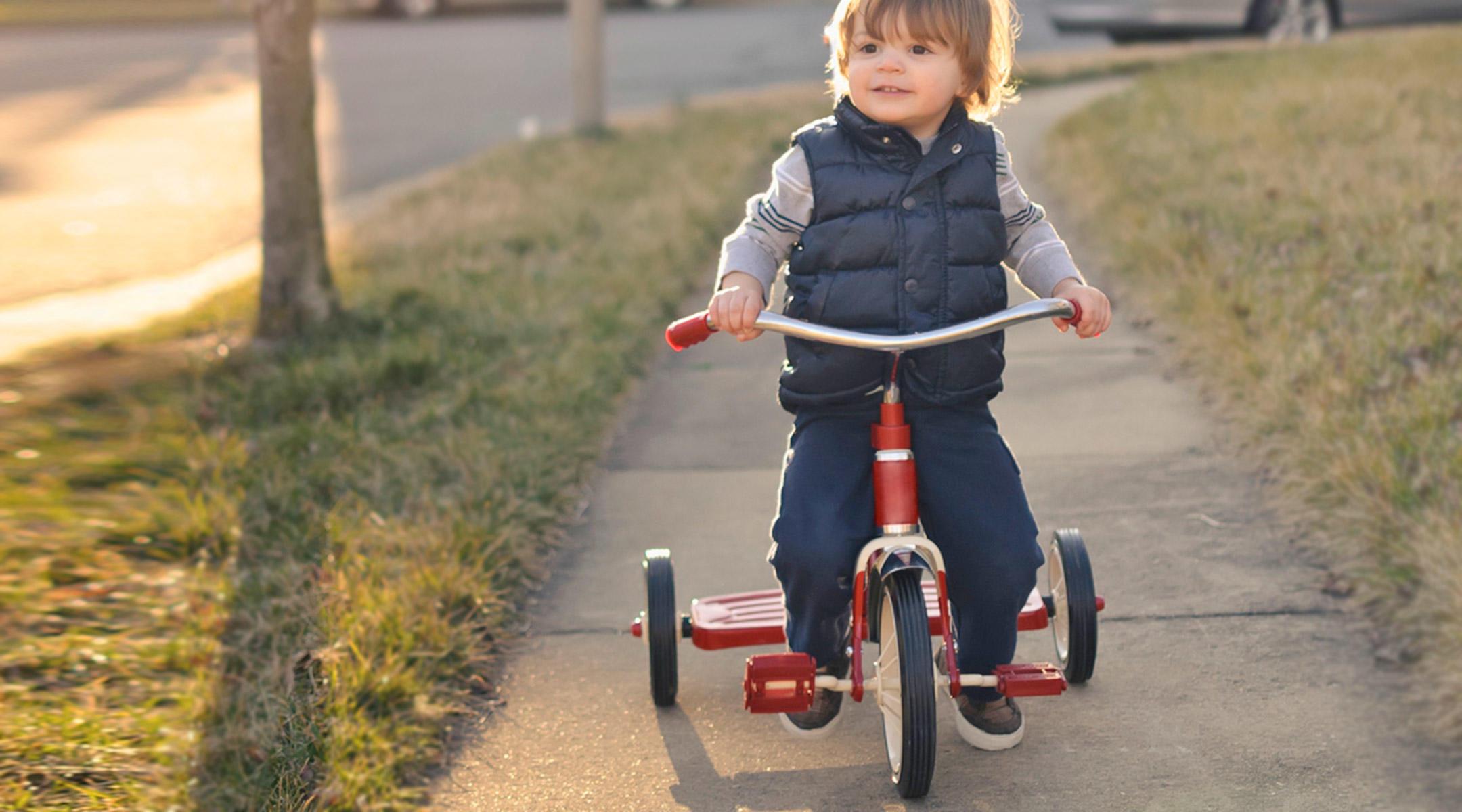 Comment utiliser un tricycle évolutif?