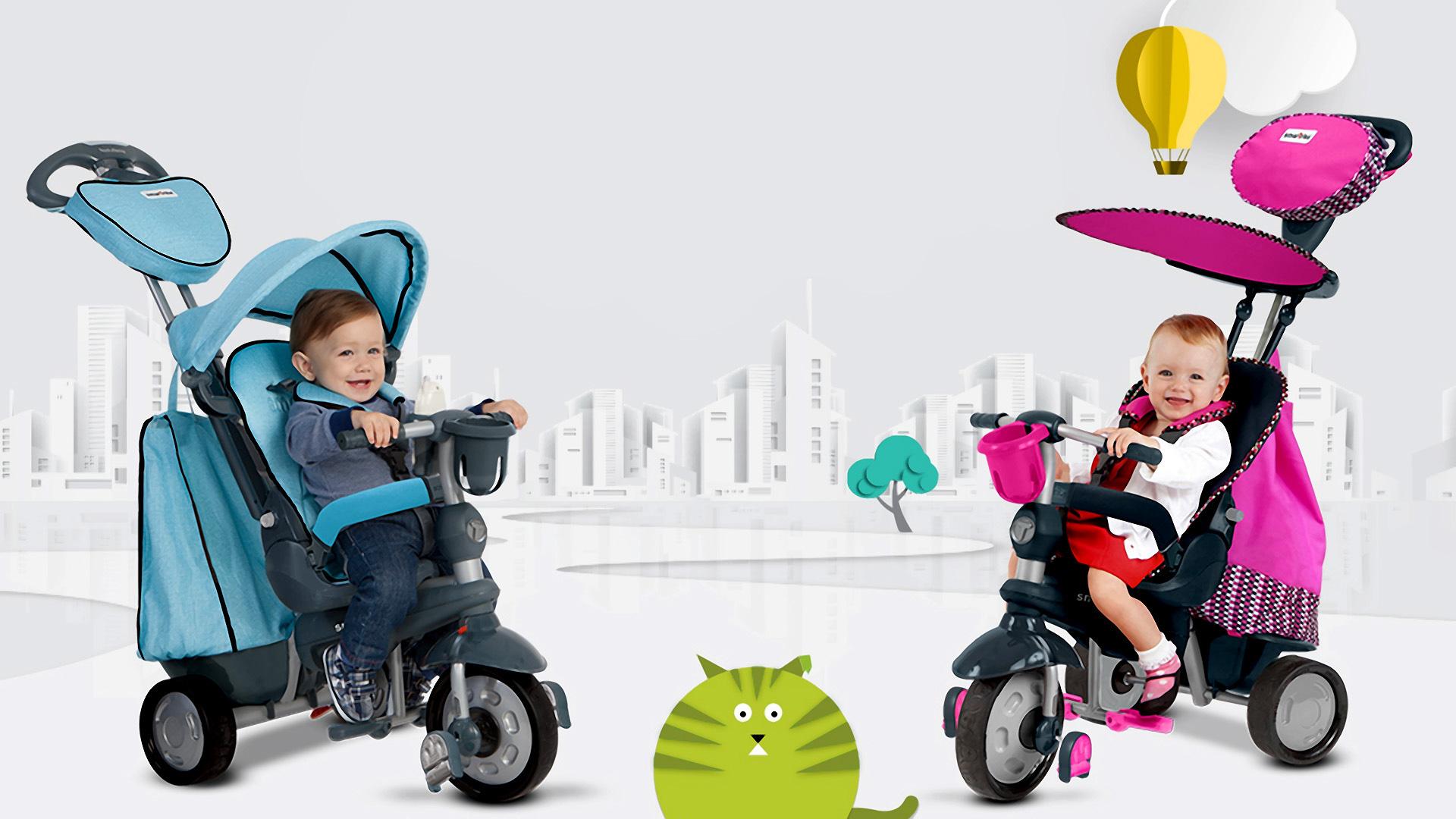 Les 5 meilleurs tricycles bébés sur le marché
